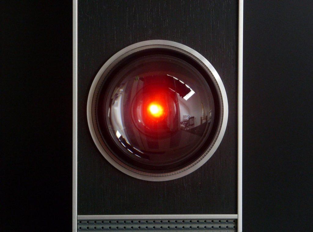 HALL 9000: il supercomputer di bordo della nave spaziale Discovery