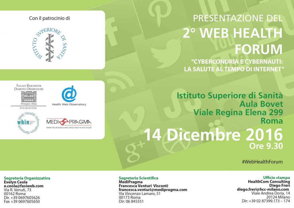 SAVE THE DATE 14 DICEMBRE 2016 v2 - ISS web report NEW