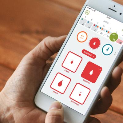 CLUE: digitalizza il calendario del frigorifero per aiutarti a tenere traccia del tuo periodo e il ciclo di ovulazione per individuare la tua finestra fertile