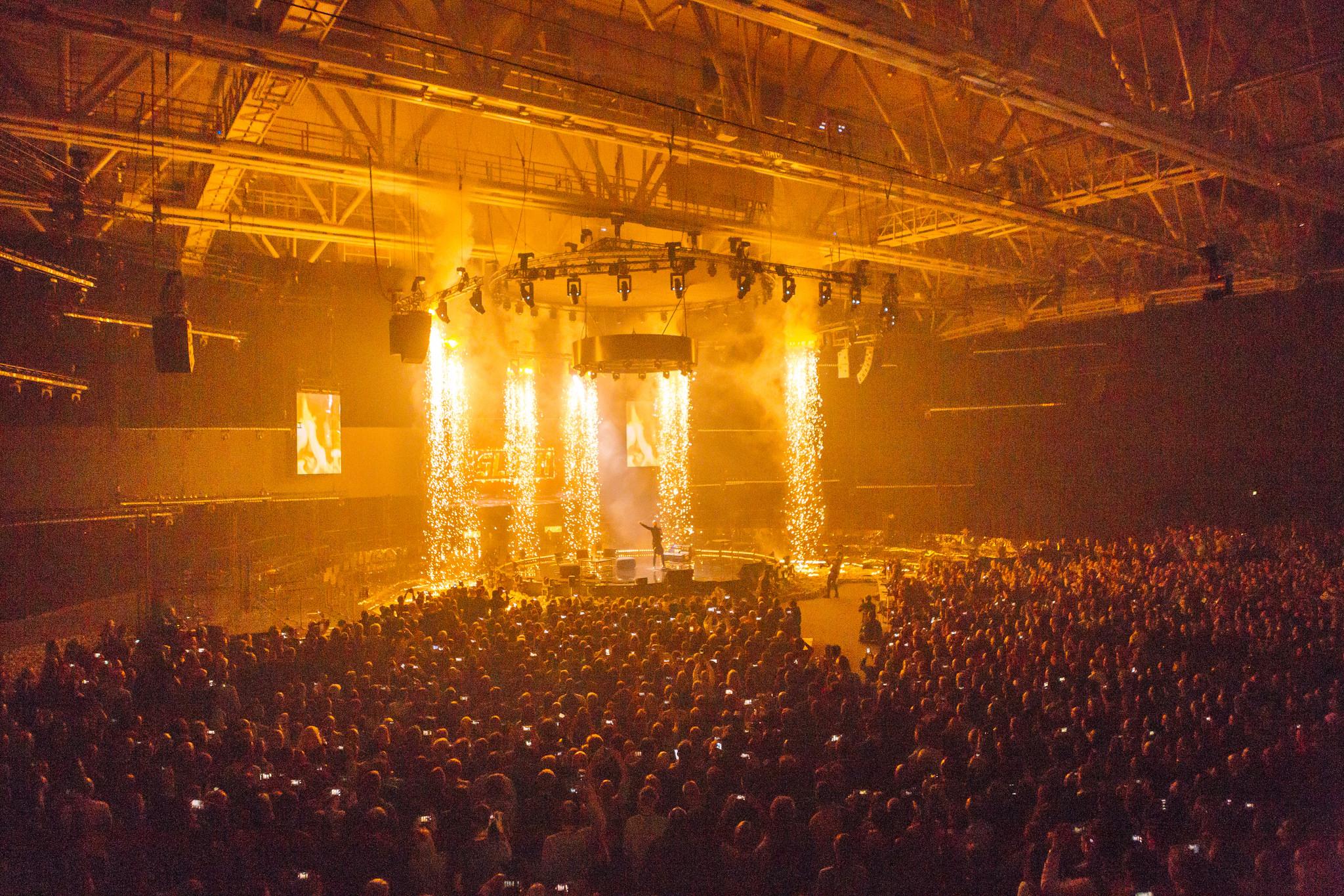 Stage moment from Slush 2016 / Credit: Petri Anttila