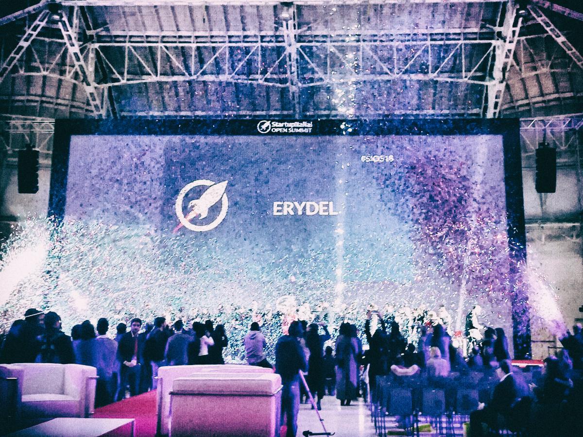 StartupItalia! Open Summit 2018: EryDel eletta startup dell'anno