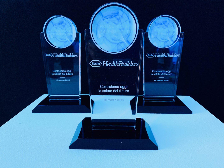 Premiati i vincitori di Roche HealthBuilders