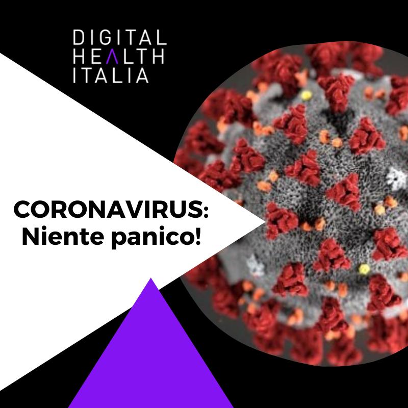 Coronavirus: niente panico