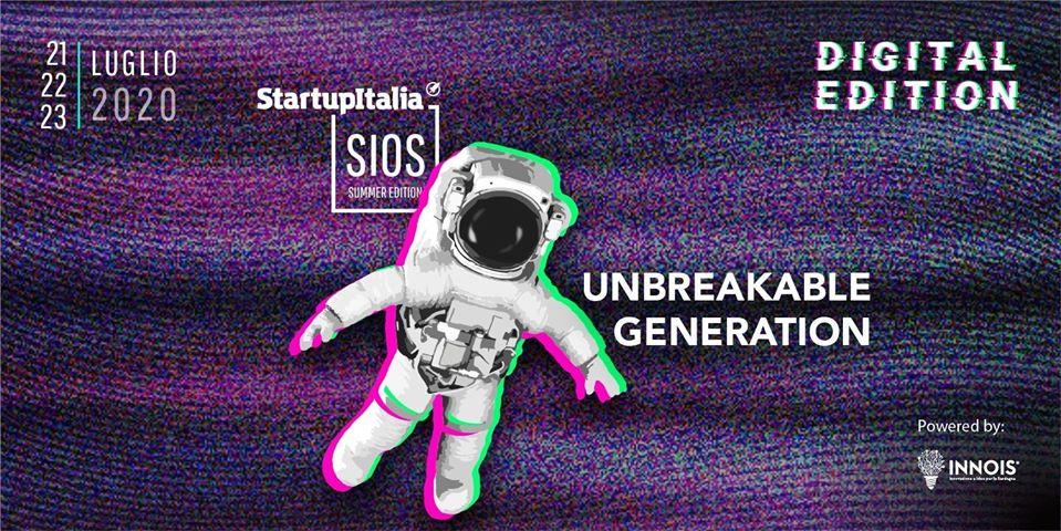 "StartupItalia Open Summit Summer Edition ""Unbreakable Generation"" è Live!"