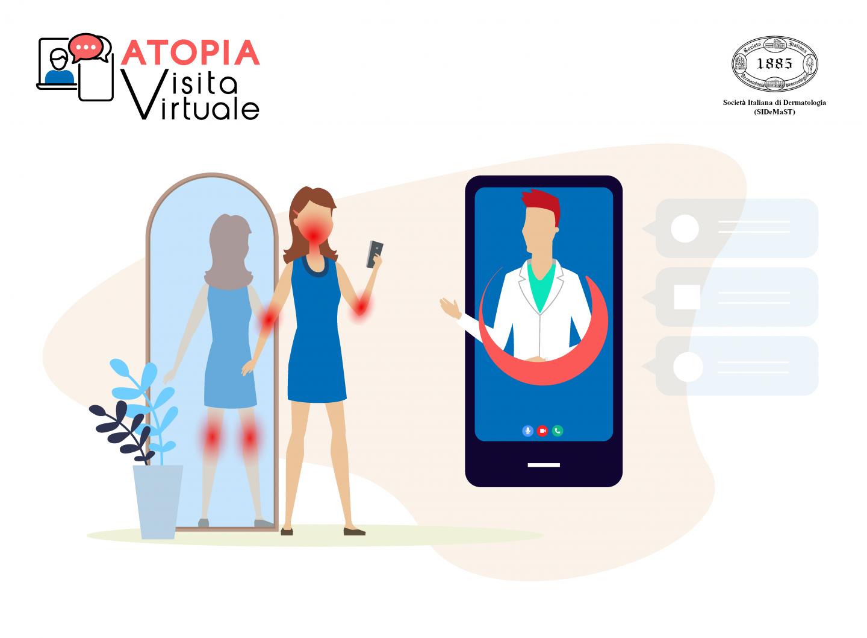 Atopia Visita Virtuale: il primo video-consulto gratuito per le persone con dermatite atopica