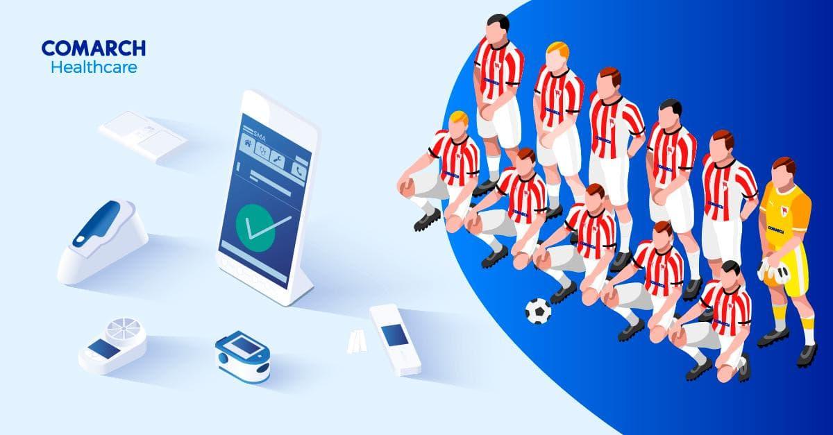 Comarch Home Health fornirà servizi di telemonitoraggio ai giocatori del KS Cracovia calcio durante la pandemia da Covid-19
