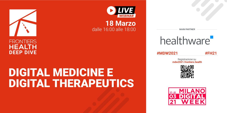 Appuntamento con Frontiers Health per la Milano Digital Week