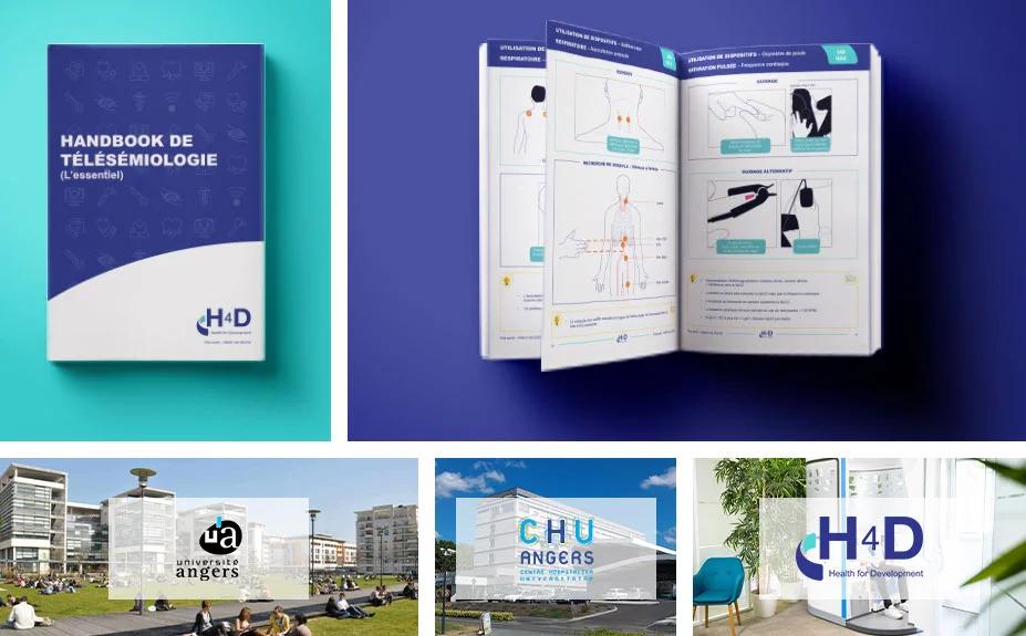 """H4D, l'Università di Angers e l'AOU di Angers (Francia) rivoluzionano la telemedicina e inventano la """"telesemeiotica"""""""