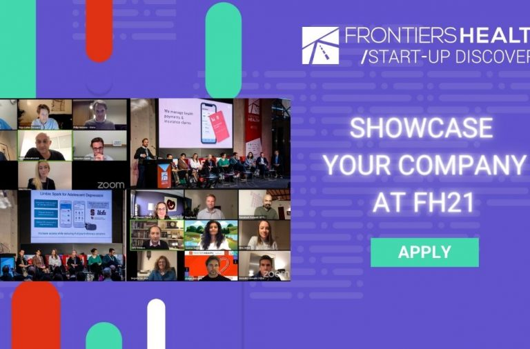 Frontiers Health 2021: aperte le iscrizioni all'iconica Start-up Discovery